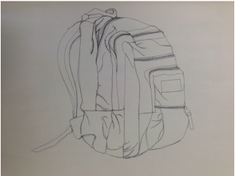 Contour Line Drawing People : Contour lines sarah s art